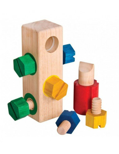 Juguete para enroscar Screw Block