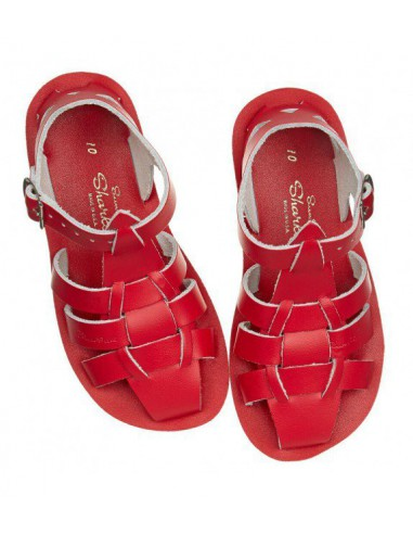 Salt Water Sandals Shark rojo