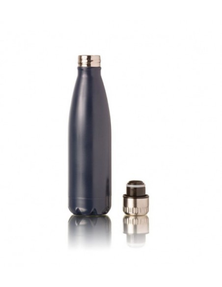 Botella térmica de acero inoxidable navy