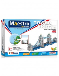 Puzzle 3D Tower Bridge Maestro