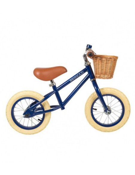 Bicicletas sin pedales First Go azul Banwood