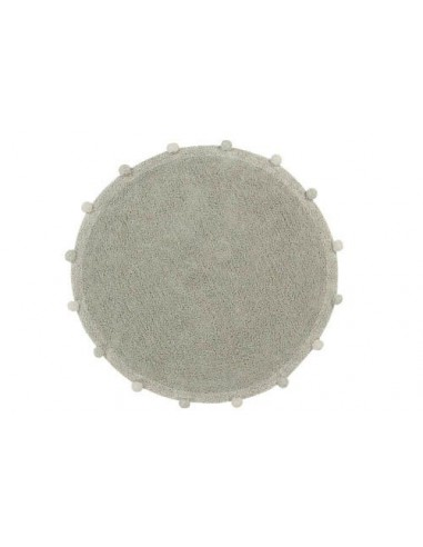 Alfombra Lavable Bubbly Olive Lorena Canals