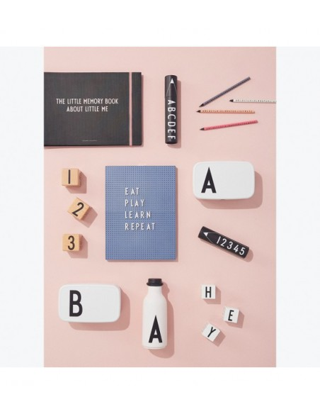 Message board A4 gris: Design Letters