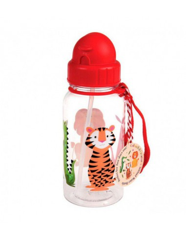 Botella infantil con animalitos