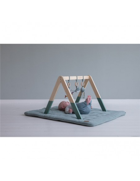 Baby gym con juguetes ocean Mint Little Dutch
