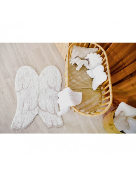 Alfombra Lavable Mini Wings de Lorena Canals