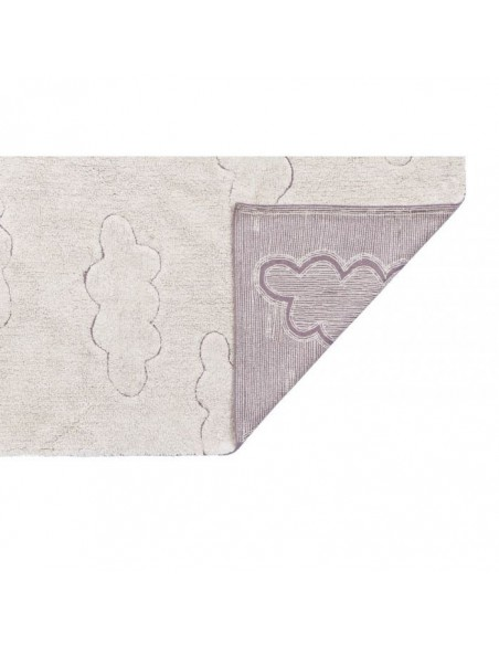 Alfombra Lavable Rugcycled Clouds XS de Lorena Canals